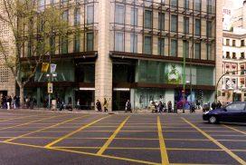 Escaparate de Zara en Madrid